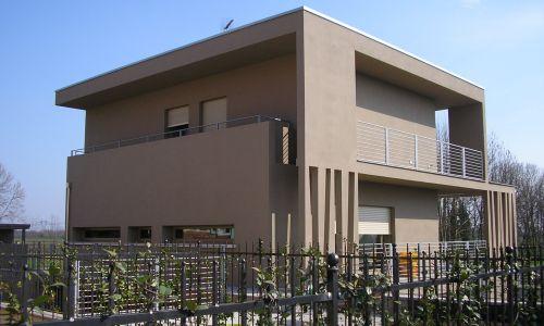 Villa moderna for Villa singola moderna